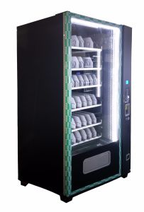 Energy Efficient High Capacity Compact Vending Machine Operated by Mdb / Dex pictures & photos