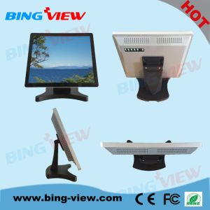 "17"" True Flat Design Commercial Pcap Payment System Touch Monitor Screen pictures & photos"