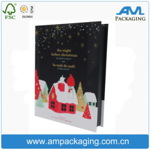 Wholesale Book Shaped Hinged Box Colored Cheap Xmas Gift Kits pictures & photos