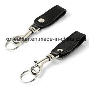 Handmade Leather Smart Design Keychain Key Chain with Ring pictures & photos
