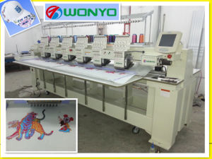 4 Heads Computer Operation Embroidery Machine for Cap T-Shirt Embroidery with 12 Needles High Quality Prices pictures & photos