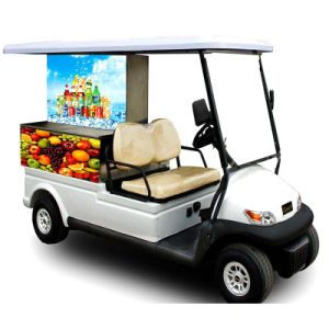 Hot Sale Park Use Food Cart with Trojan Battery pictures & photos
