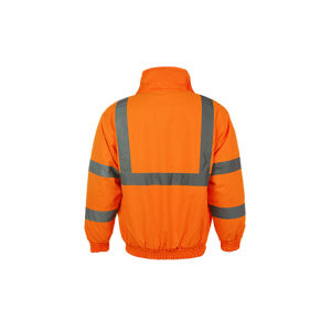 100% Polyester Bomber Reflective Jacket pictures & photos