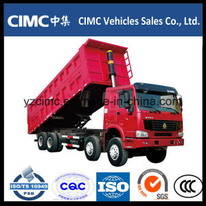 HOWO 6X4 371HP Dump Truck 18cbm Hw76 pictures & photos