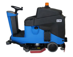 Gadlee Ce Industrial and Commercial Smart Ride-on Scrubber (GT180) pictures & photos