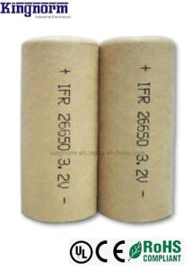 High Rate Power Cell LiFePO4 26650 3.2V Battery pictures & photos