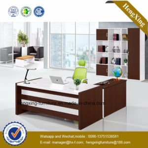 Modern Melamine Furniture Executive Table Manager Office Desk (HX-GD039F) pictures & photos