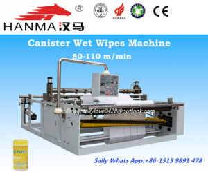 Automatic Roll Type Wet Tissue Making Machine