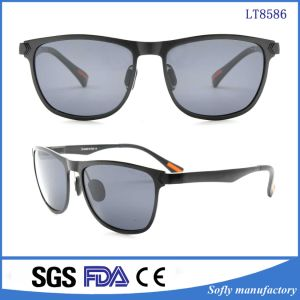 Vintage Retro Unisex Square Plastic Frame Combat Glasses Eyewear Multilayer Sunglasses pictures & photos
