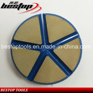 Ceramic Diamond Floor Hook and Loop Polishing Pad for Concrete pictures & photos