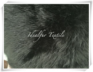 Black Color Fox Artificial Fur/Imitation Fur pictures & photos