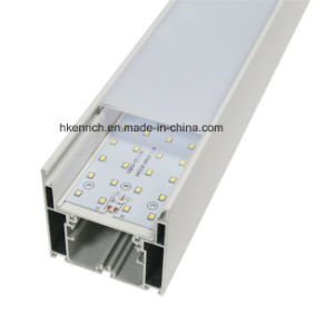 100 Lm /W Aluminum LED Hanging Fixture Linear Trunking Chandelier Light for Shop pictures & photos