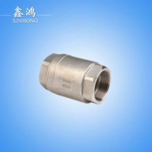 304 Stainless Steel Vertical Check Valve Dn20 pictures & photos