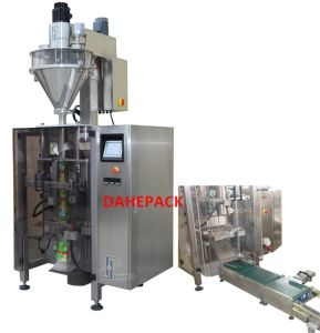 Automatic Vertical Sachet Machine with Checkweigher for Soy Milk Powder pictures & photos