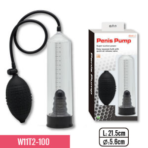 """8.5""""Pump Whit TPE Sleeve and Big Bulb, Super Suction for Erection Training for Adult Sex Toy pictures & photos"""
