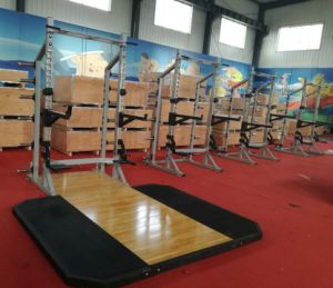 Hammer Strength Fitness Equipment / HD Athletic Half & Half Combo Rack (SF1-6013) pictures & photos