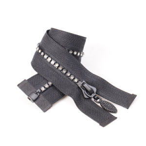 No. 5 5# Plastic Diamond Zipper O/E pictures & photos