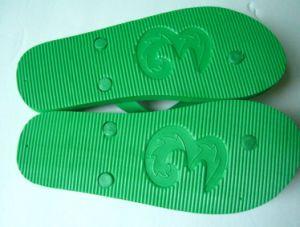 PVC Strap EVA Sole Flip Flop Sandals with Debossed Logo pictures & photos