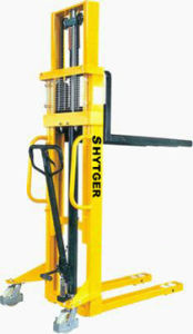 Hot Sale Hydraulic Manual Stacker CE pictures & photos