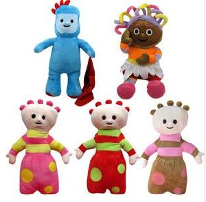Bbc Toys and Pillows in The Night Garden (EL11-J)