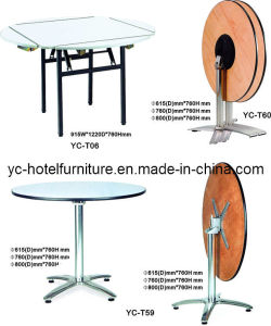 Round and Square Cocktail Table for Restaurant (YC-T59) pictures & photos