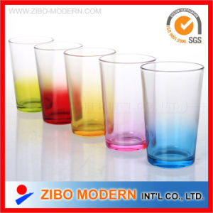 Coloured Drinking Glass pictures & photos