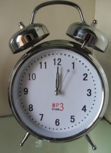 MP3 Metal Alarm Clock pictures & photos