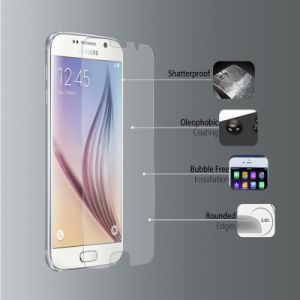 Tempered Glass Screen Protector Film for Samsung Galaxy S6 pictures & photos