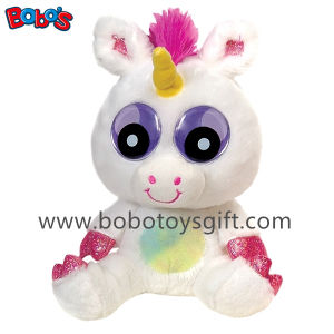 Newest Plush Unicorn Toy with Big Eyes pictures & photos