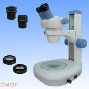 High Quality Stereo Zoom Microscope (JYC0730N-BST) pictures & photos