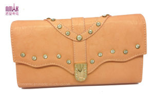 Jewel Decorate Lady Clutches Wallet (NMDK-W026) pictures & photos