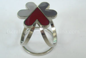 Nickel Plating Metal Scarf Ring with Custom Logo pictures & photos