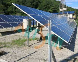 Solar PV Ground Mounting Structure, Ground Screw pictures & photos