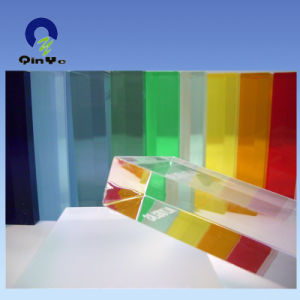 3mm Cast Clear Acrylic Sheet for Gift Board pictures & photos