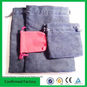 Promotion Newest Drawstring Velvet Bag for Gift (MD-AD-2068)