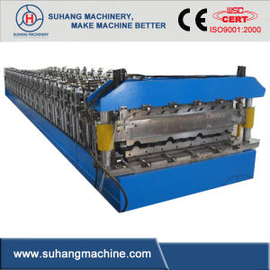 Galavanized Steel Roof Roll Forming Machinery with Double Layers pictures & photos
