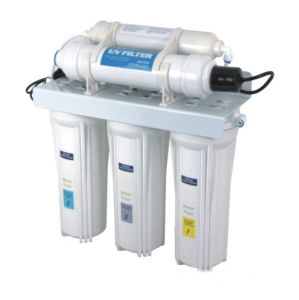 5 Stages Household Water Purifier with Advanced UV Sterilizer QY-UFV05 pictures & photos