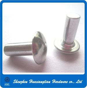 Factory Supply Round Oval Solid Aluminum Rivet pictures & photos