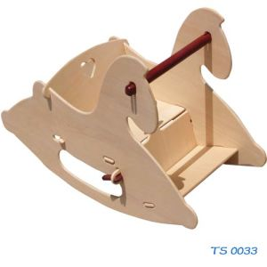Wooden Toys- Rocking Horse (TS 0033) pictures & photos