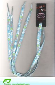 Color Shoelace With Card (FJXD0044)