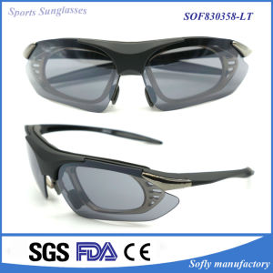 Polarized Designer Fashion Sports Sunglasses Spectacles for Tr90 Superlight Frame pictures & photos