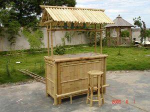 Wood Tiki Bar