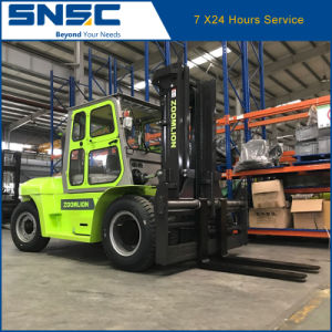 10t Diesel Forklift Truck Heavy Duty Snsc Forklift pictures & photos