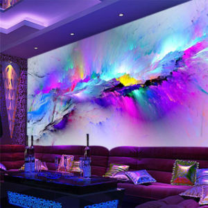 Custom Printing Waterproof Self Adhesive Decorative Wallpaper for Bar pictures & photos