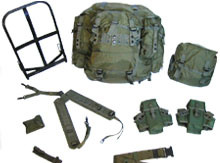 American Pattern Knapsacks/ Backpack with Frame/ Military Backpack Set/ Individual Equipment pictures & photos