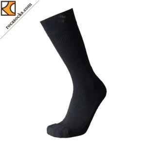 Men′s Comb Cotton Standup Graduated Compression Sport Socks (161005SK) pictures & photos