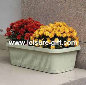 Fo-9876 Garden Plastic Flower Pot pictures & photos