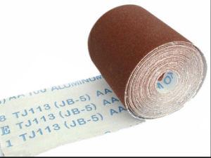 Flexible Coated Aluminum Oxide Abrasive Cloth Roll (JB-5, TJ113)