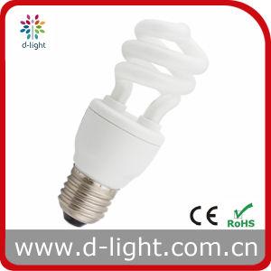 9W E27 T3 Mini Half Spiral Energy Saving Light pictures & photos