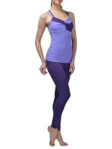 Fashion Sexy Girl Polyester Yoga Sport Legging Tight Pants pictures & photos